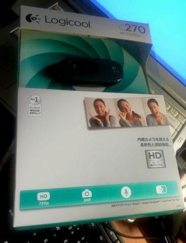 LOGICOOL ウェブカム HD画質 120万画素 C270 01